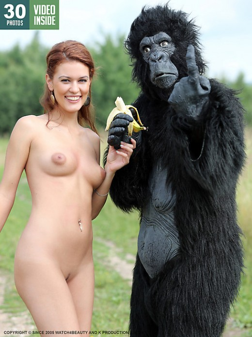 Becca - `W4B Magazine - Becca And King Kong` - by Mark for WATCH4BEAUTY