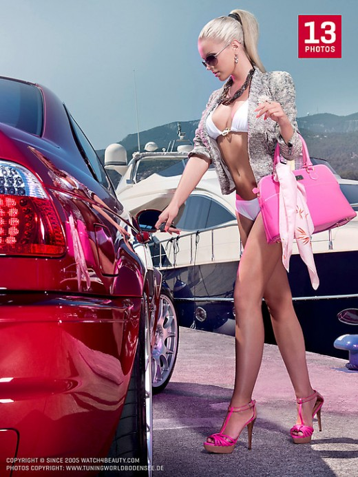 W4B Magazine - `W4B Magazine - Miss Tuning` - by Mark for WATCH4BEAUTY