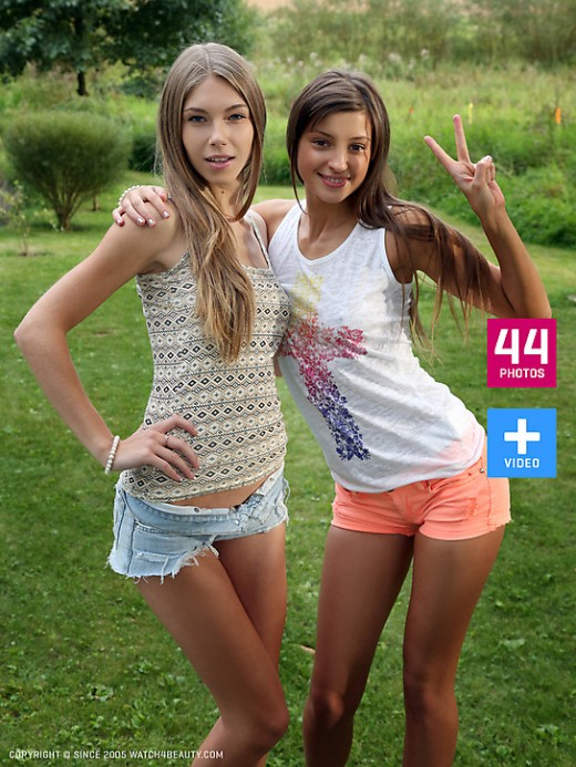 Abby & Maria - `W4B Magazine - A Visit From Saint Petersburg` - by Mark for WATCH4BEAUTY