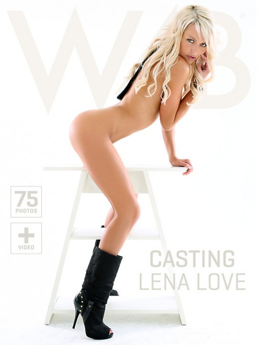 Lena Love - `Casting Lena Love` - by Mark for WATCH4BEAUTY