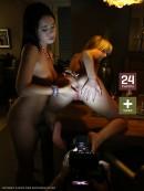 Bella Babe & Mia Manarote - W4B Magazine - Backstage Lesbians