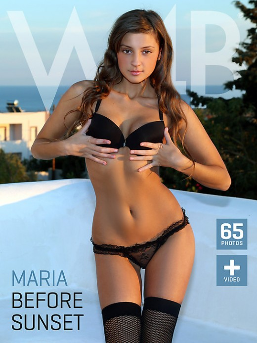 Maria - `Before Sunset` - by Mark for WATCH4BEAUTY