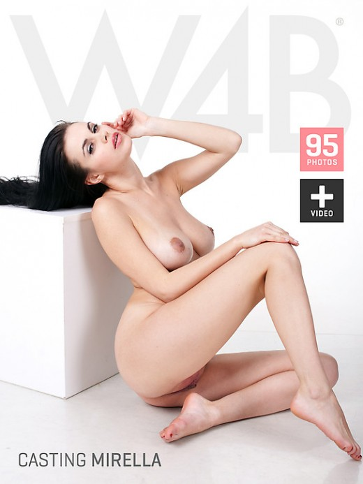 Mirella - `Casting Mirella` - by Mark for WATCH4BEAUTY