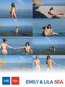 Lila & Emily - Sea