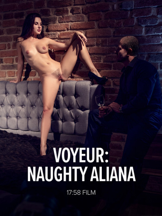 Aliana - `Voyeur: Naughty Aliana` - by Mark for WATCH4BEAUTY