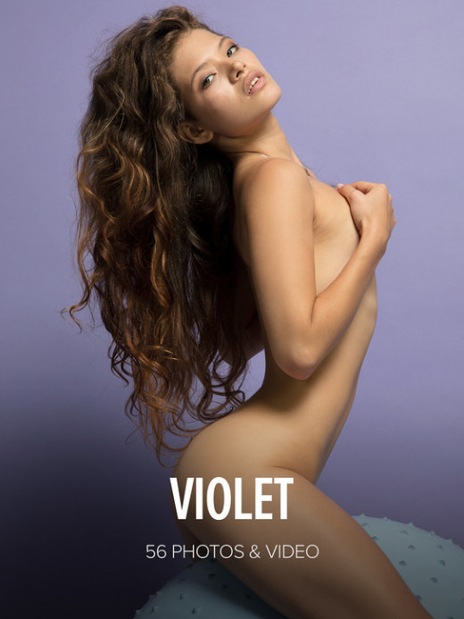 Irene Rouse in Violet gallery from WATCH4BEAUTY by Mark