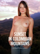 Abella Jade in Sunset In Colombian Mountains gallery from WATCH4BEAUTY by Mark