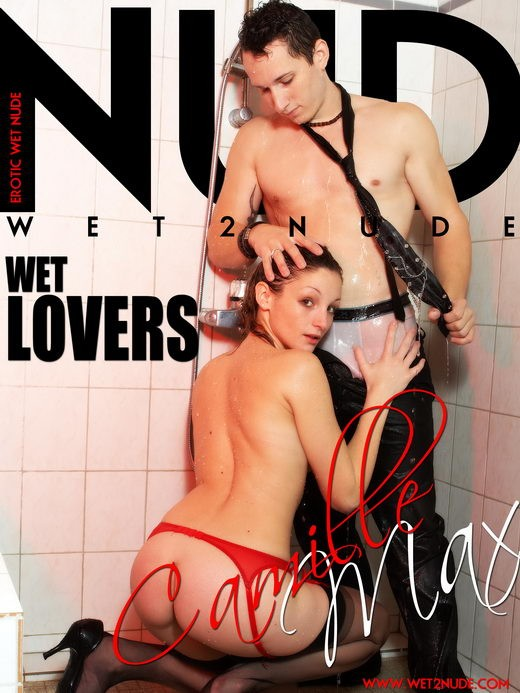 Camille - `Wet Lovers` - by Genoll for WET2NUDE