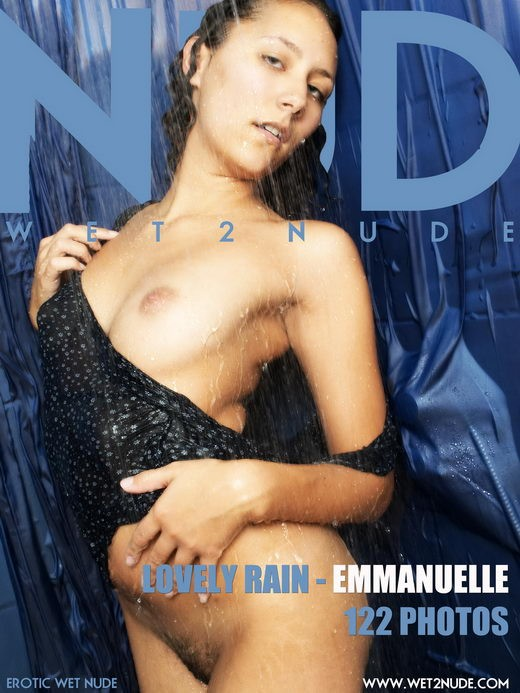Emmanuelle - `Lovely Rain` - by Genoll for WET2NUDE