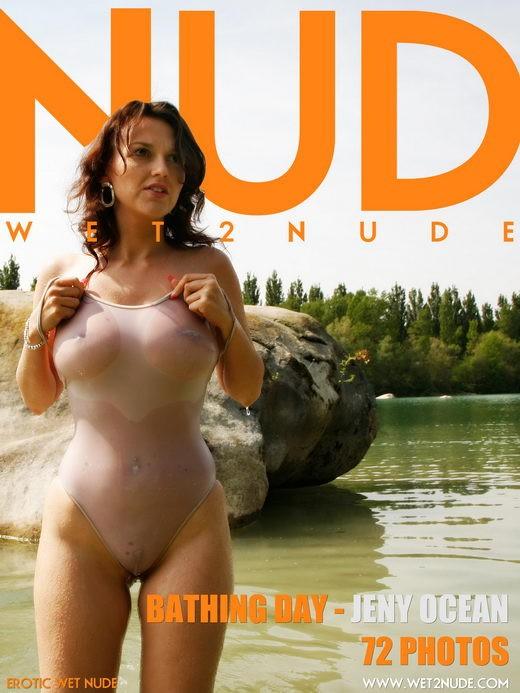 Jeny Ocean - `Bathing Day` - by Genoll for WET2NUDE