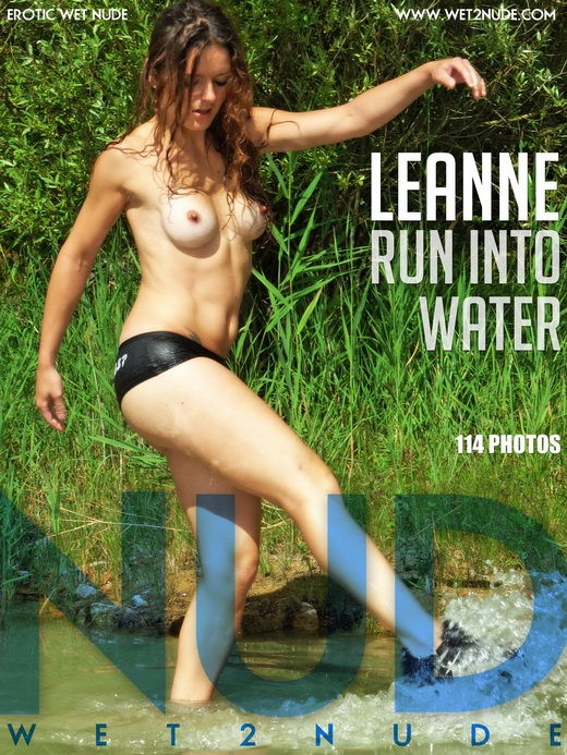 Leanne - `Run into Water` - by Genoll for WET2NUDE