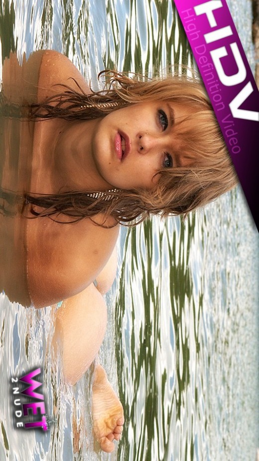 Lily - `Horny Blonde` - by Genoll for WET2NUDE