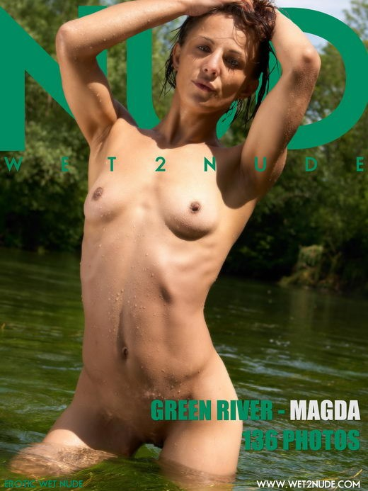 Magda - `Green River` - by Genoll for WET2NUDE