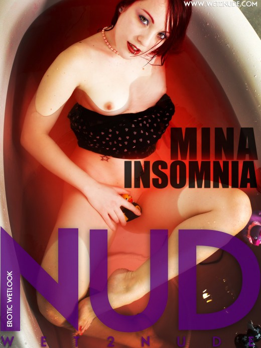 Mina - `Insomnia` - by Genoll for WET2NUDE