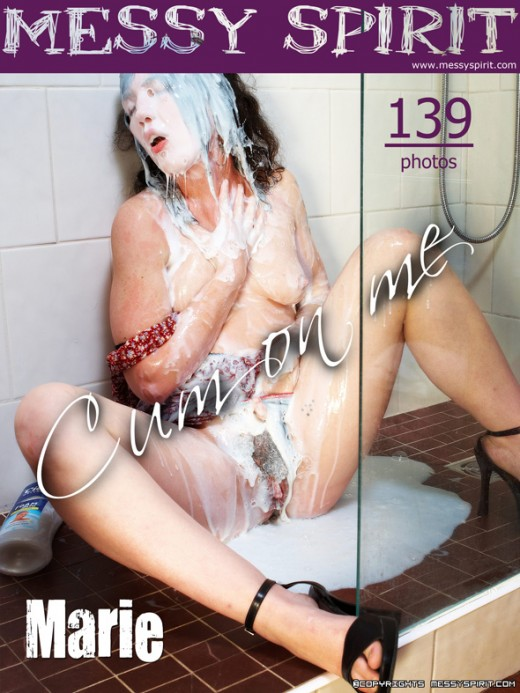 Marie - `Cum On Marie's Face` - by Genoll for WET2NUDE