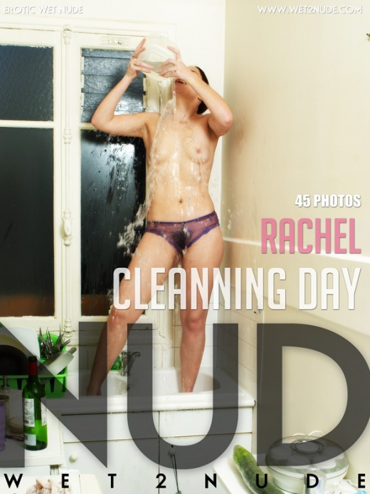 Rachel - `Cleanning Day` - by Genoll for WET2NUDE
