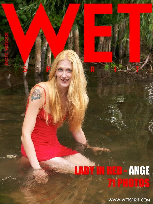 Ange - `Lady in Red` - by Genoll for WETSPIRIT