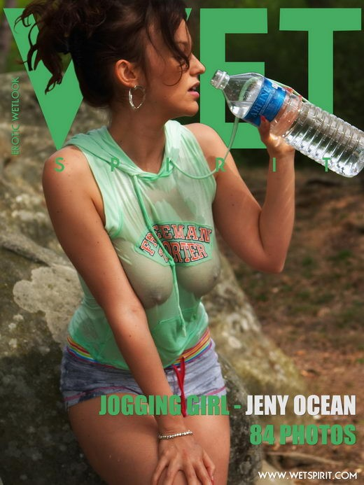 Jeny Ocean - `Jogging Girl` - by Genoll for WETSPIRIT