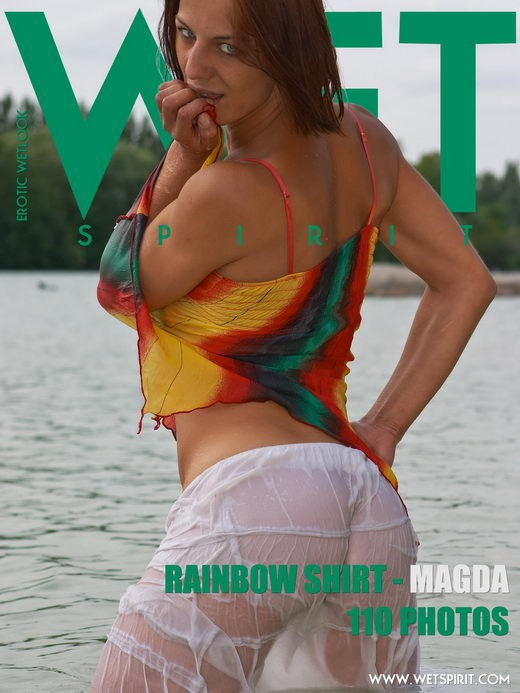 Magda - `Rainbow Shirt` - by Genoll for WETSPIRIT