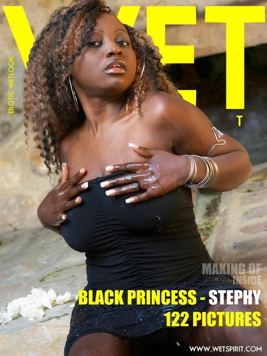 Stephy - `Black Princess` - by Genoll for WETSPIRIT