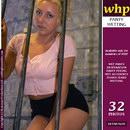 Natalie Wets Her Panties In Prison