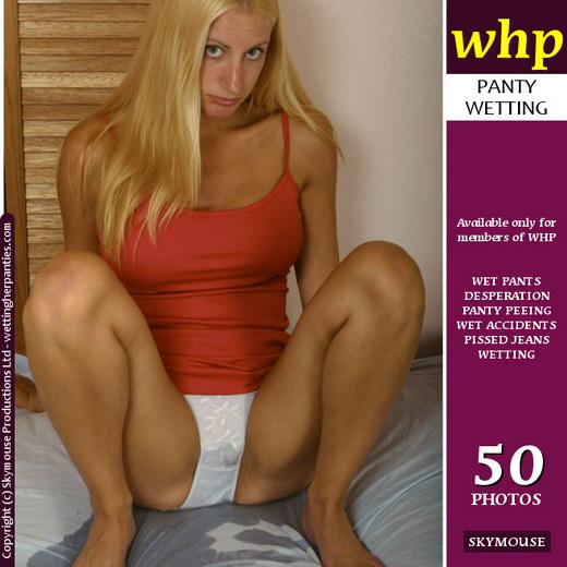 Tiffany - `Bedwetting And Peeing Her Knicks` - by Skymouse for WETTINGHERPANTIES