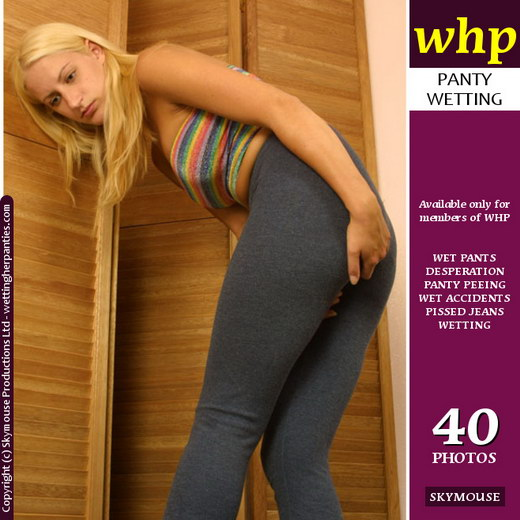 Tiffany - `Pissy Wet Leggings` - by Skymouse for WETTINGHERPANTIES
