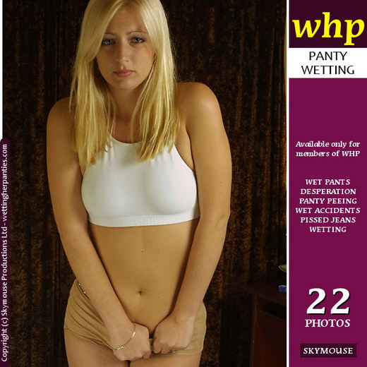 Sadie - `Hot Wet Pants` - by Skymouse for WETTINGHERPANTIES