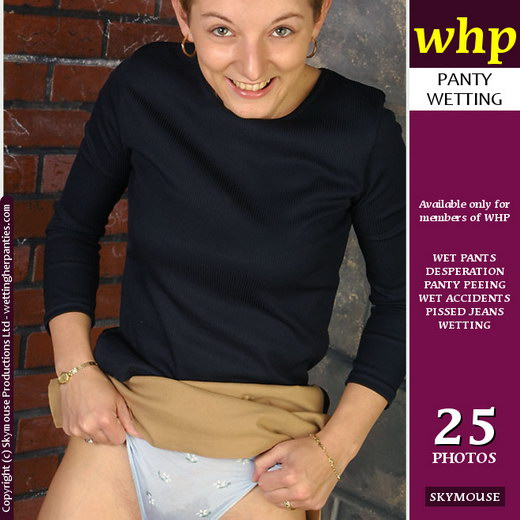 Jessica - `It Gushes Forth Through Her Knickers` - by Skymouse for WETTINGHERPANTIES