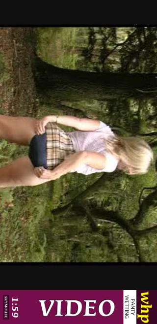 Di - `Kinky Di pees her navy blue panties in the forest` - by Skymouse for WETTINGHERPANTIES