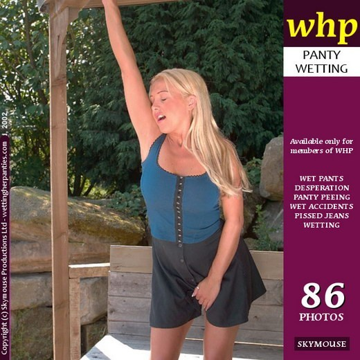 Wendy Jayne - `Wendy Jayne Has A Panty-Wetting Accident After A Long Struggle` - by Skymouse for WETTINGHERPANTIES