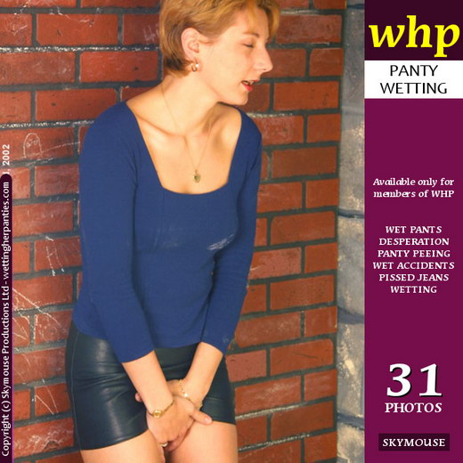 Jessica - `Jessica's Leather Skirt Accident` - by Skymouse for WETTINGHERPANTIES