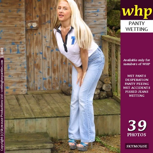 Wendy Jayne - `Naughty Wendy Jayne Pees In Her Jeans` - by Skymouse for WETTINGHERPANTIES