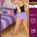 Sunny Wets Her Pink Knickers Under Her Flimsy Blue Skirt