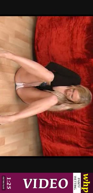 Sandie - `Desperate Sandy wets her knickers while sitting on the floor` - by Skymouse for WETTINGHERPANTIES