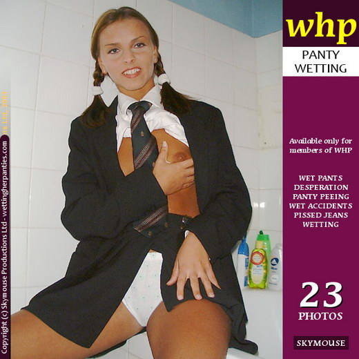 Michaela - `Michaela's Toilet Fun` - by Skymouse for WETTINGHERPANTIES