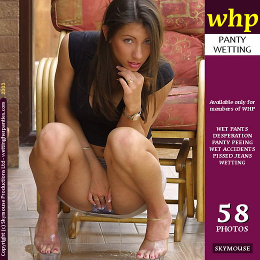 Candice Paris - `Sexy Panty And Skirt Wetting From Candice Paris` - by Skymouse for WETTINGHERPANTIES