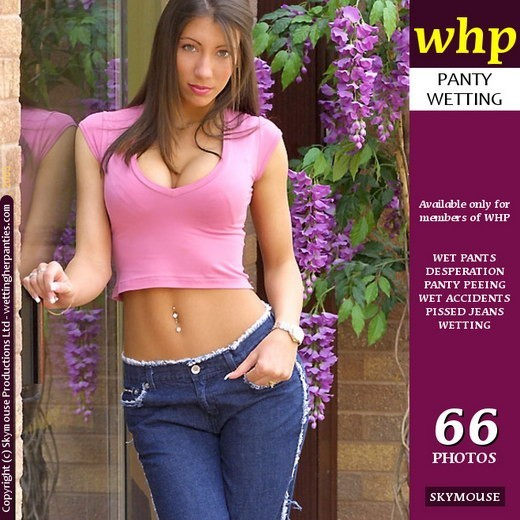 Candice Paris - `Candice Paris Has A Desperate Pissy Wet Accident In Her Jeans` - by Skymouse for WETTINGHERPANTIES