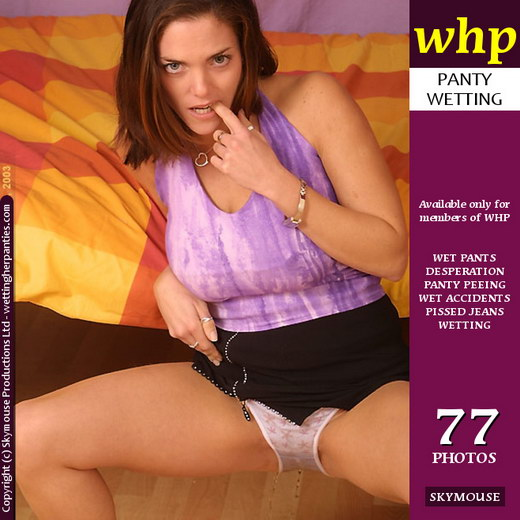 Tasmin - `Tasmin's Upskirt-Panty Modelling Goes Embarassingly Wrong Due To Her Need To Pee` - by Skymouse for WETTINGHERPANTIES