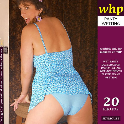 Jilly - `Jilly Delights In Wetting Her Panties` - by Skymouse for WETTINGHERPANTIES