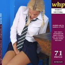 Has An Accident Then Shows Off The Big Wet Patch Under Her Short School Skirt