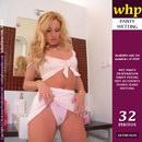 Gayle Pees Her Skimpy Pink Panties