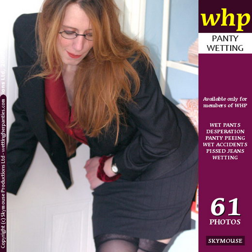 Jodey X - `Office Girl Jodey X Is Refused A Bathroom Break` - by Skymouse for WETTINGHERPANTIES