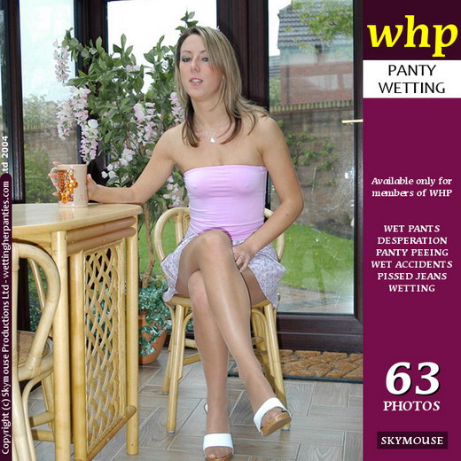 Sabrina - `Sabrina Has A Tinkle In Her Pantyhose` - by Skymouse for WETTINGHERPANTIES
