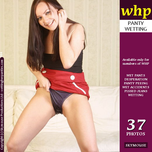 Jessica Wood - `Jessica Wood Deliberately Pees Her Panties` - by Skymouse for WETTINGHERPANTIES