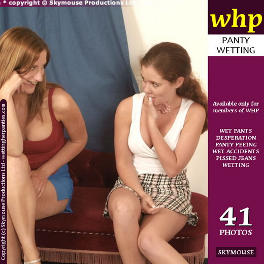 Tiffany & Fern - `Tiffany And Fern Have Some More Wet Pantie Fun` - by Skymouse for WETTINGHERPANTIES