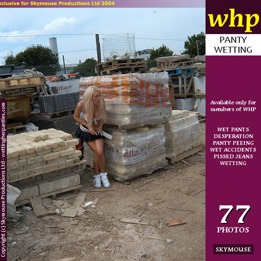 Jamie Lee - `Jamie Lee Has A Mishap In The Builders Yard` - by Skymouse for WETTINGHERPANTIES