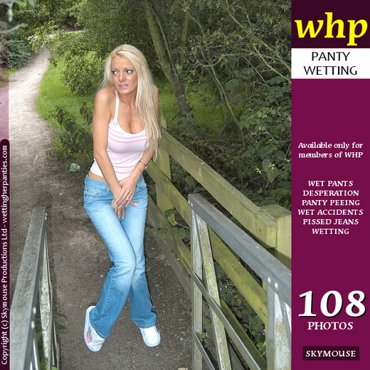 Jamie Lee - `Jamie Lee Gets Desperate And Pisses Her Jeans` - by Skymouse for WETTINGHERPANTIES