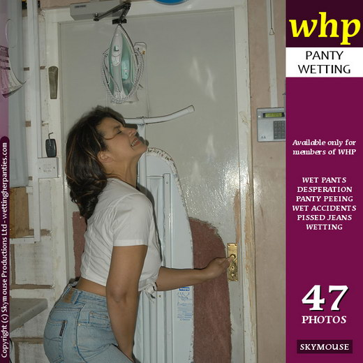 Georgina Smith - `Georgina Smith Is Trapped In The Utility Room And Bursting To Pee` - by Skymouse for WETTINGHERPANTIES