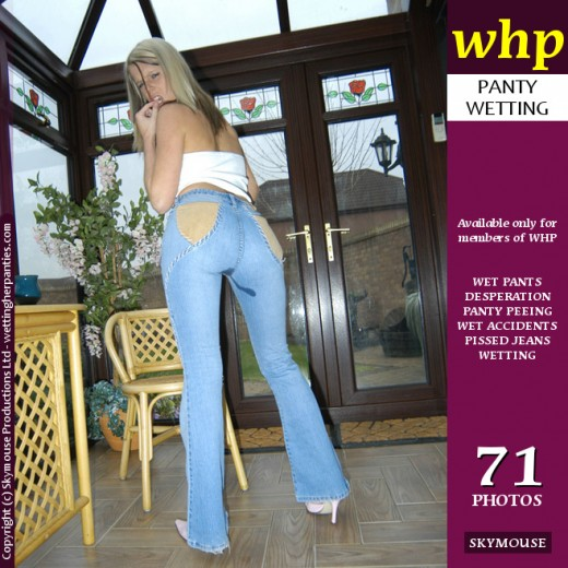 Natalie Jones - `Natalie Jones has a sexy pee accident in her jeans` - by Skymouse for WETTINGHERPANTIES